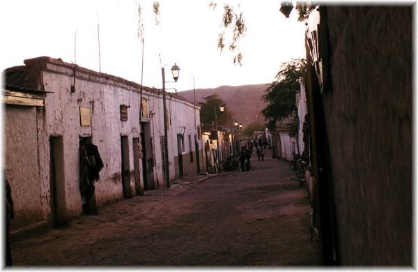 """... die """"Fußgängerzone"""" von San Pedro"""