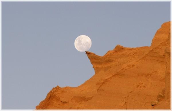 ... fast wäre der Mond geplatzt