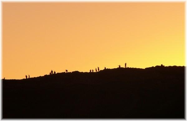 ... Fotografen auf der Sanddüne