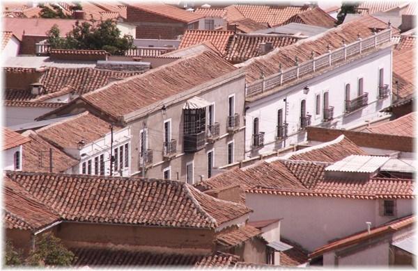 ... über den Dächern von Sucre