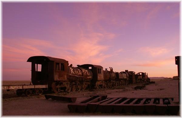 ... Dampflokomotiven-Friedhof von Uyuni