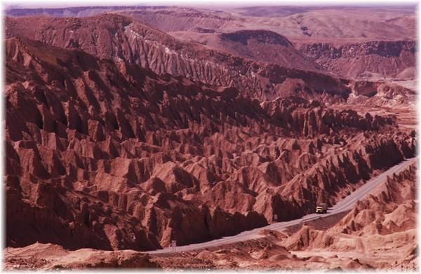... kurz vor San Pedro de Atacama
