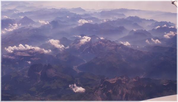 ... Dolomiten von oben, wie wunderschön doch unsere Erde ist