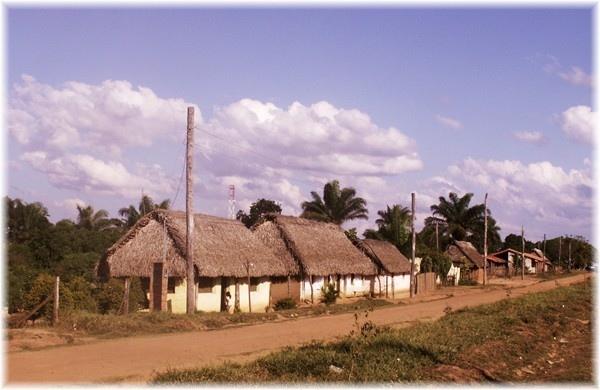 ... Yaguaru, die Missionsgemeinde die Pater Franz betreut