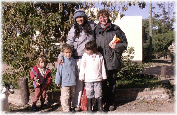 ... Josi, Michaela und die Kinder