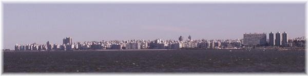 ... Skyline von Montevideo-Uruguay