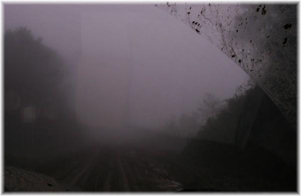... Schlamm und Nebel, kaum was zu erkennen